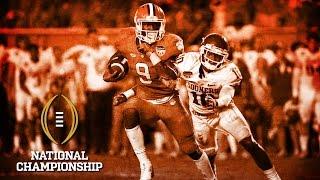 Wayne Gallman On Alabama | National Championship Media Day