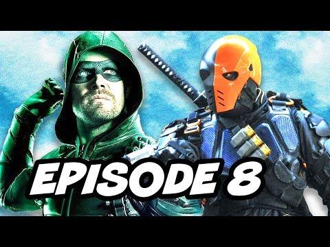 Arrow Season 5 Episode 8 - The Flash Supergirl Legends Crossover Part 3