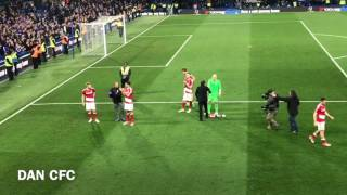ANTONIO CONTE APPLAUDS MIDDLESBROUGH FANS AND SHAKES PLAYERS HANDS AFTER THEIR RELEGATION