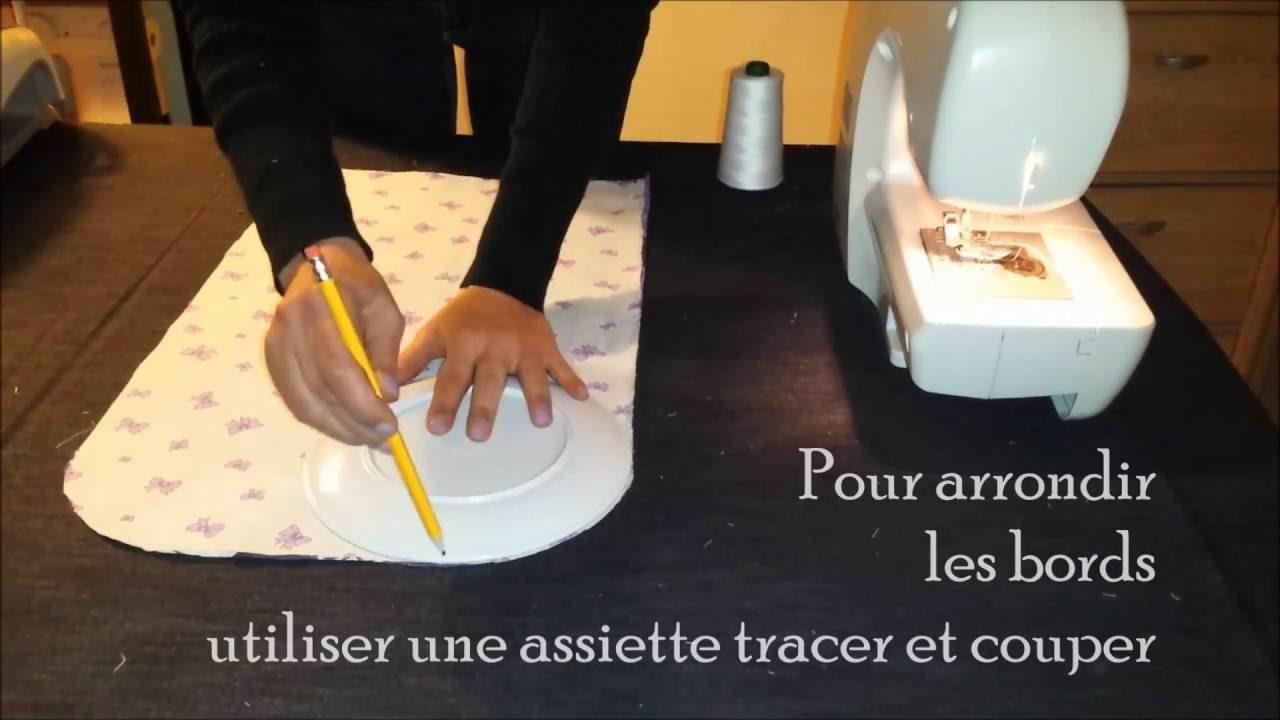 Populaire Projet Couture facile tuto pochette et pression Kam - YouTube AX47