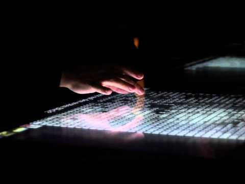 STÄDEL MUSEUM FRANKFURT - Multitouch Installation (music by elpierro)