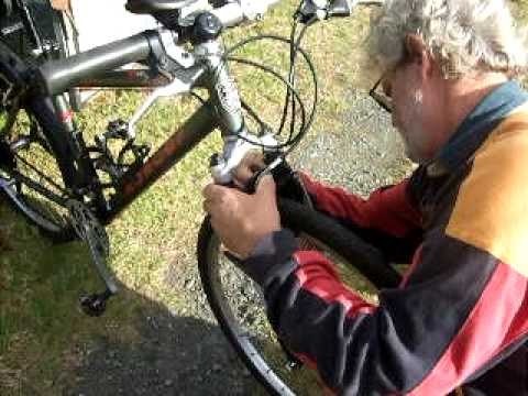 Mountain Bike Pannier Rack For Suspension Forks Youtube