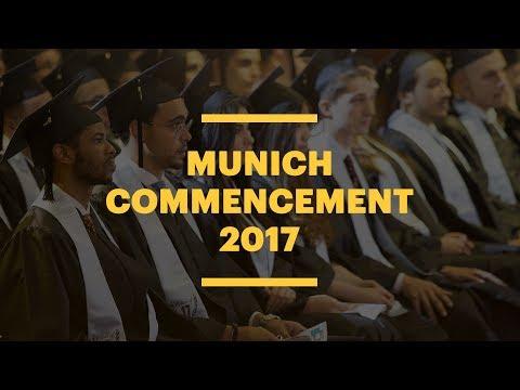 EU Business School Munich Commencement 2017