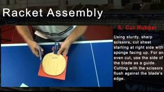 Сборка ракетки для настольного тенниса(Компания Butterfly представляет поэтапное описание процесса сборки теннисной ракетки., 2012-07-06T08:43:06.000Z)