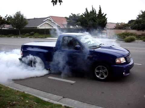 2004 Ford Lightning Burnout