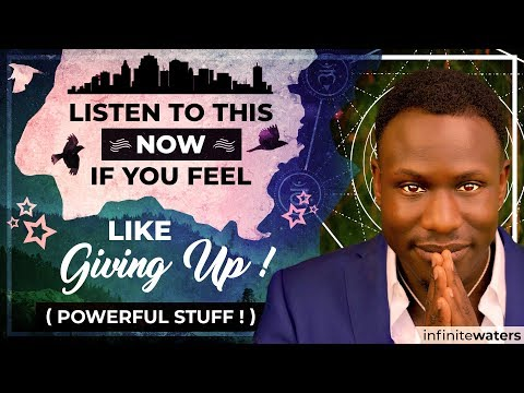 MUST SEE Video if You Feel Like Giving Up (Powerful Stuff!)