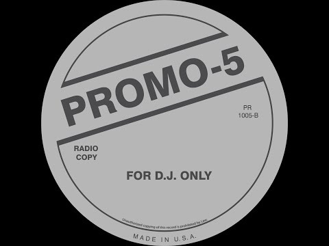 Promo 5 (For D.J. Only) 1988 (Side B)