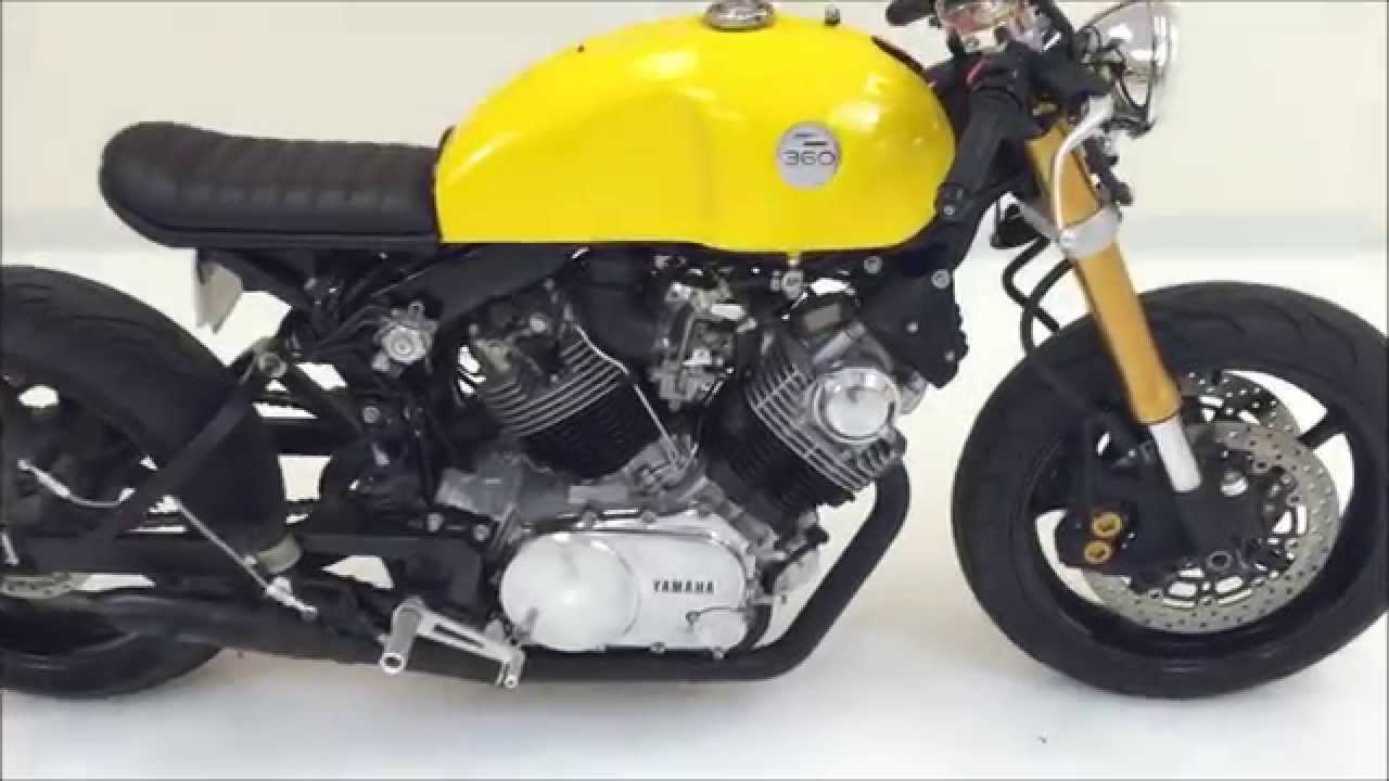 Yamaha Benelli Xv 920 R Cafe Racer Funnydog Tv