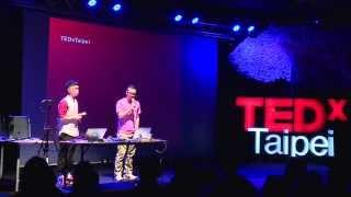 為生活翻轉新音樂!:梁基爵、朱力行 (Gaybird Leung & Henry Chu) at TEDxTaipei 2013