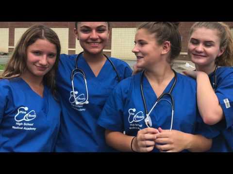 Pine Bush Summer Medical Academy Grad Video 2017