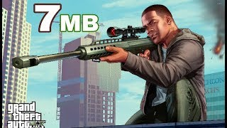 (7mb) How to Download GTA 5 in 7 MB with Installation and Gameplay proof 1000000000000%