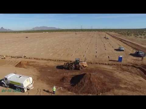 Red Rock Solar Plant Construction Update #1