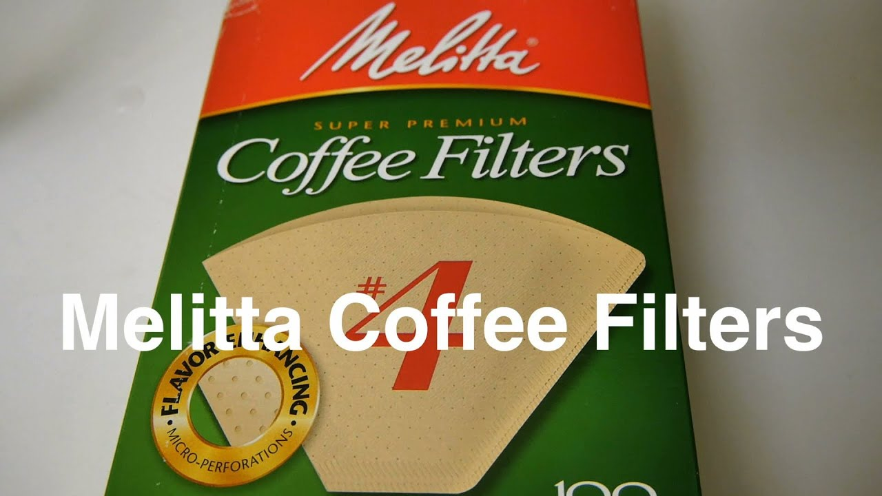 Melitta Coffee Filters In 4 Size Cone Unbleached Natural Brown Paper Filter For Otaku Coffee