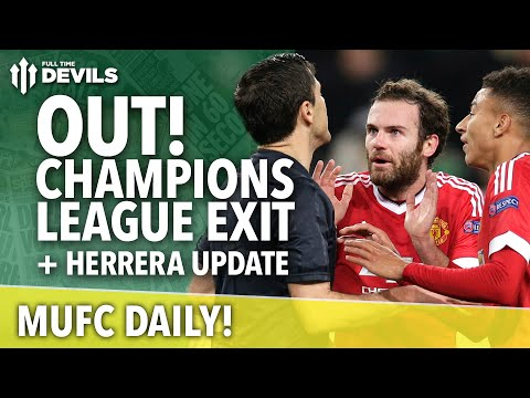 Out! Champions League Exit | MUFC Daily | Manchester United