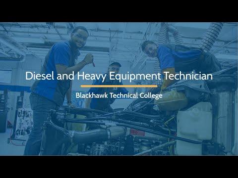 Diesel and Heavy Equipment Technician | Blackhawk Technical College