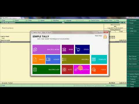 EXCEL TO TALLY IMPORT www.technoact.com