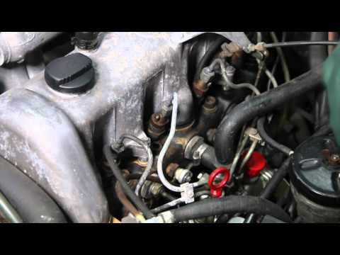 How to Remove and Replace Diesel Fuel Injector Return Hose without Damage