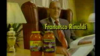 Francesco Rinaldi Commercial (1986)