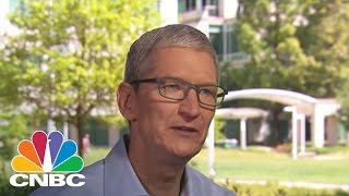Apple CEO Tim Cook: Setting Records (Part 1/2)| Mad Money | CNBC