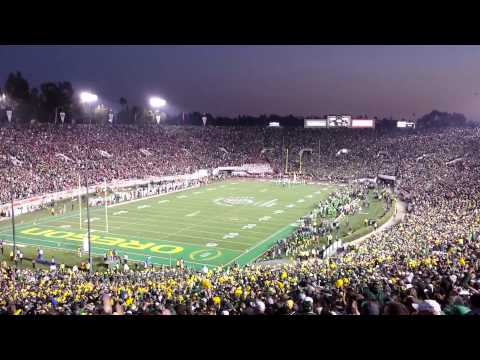 101st Rose Bowl - Oregon Ducks Score Another Touchdown!