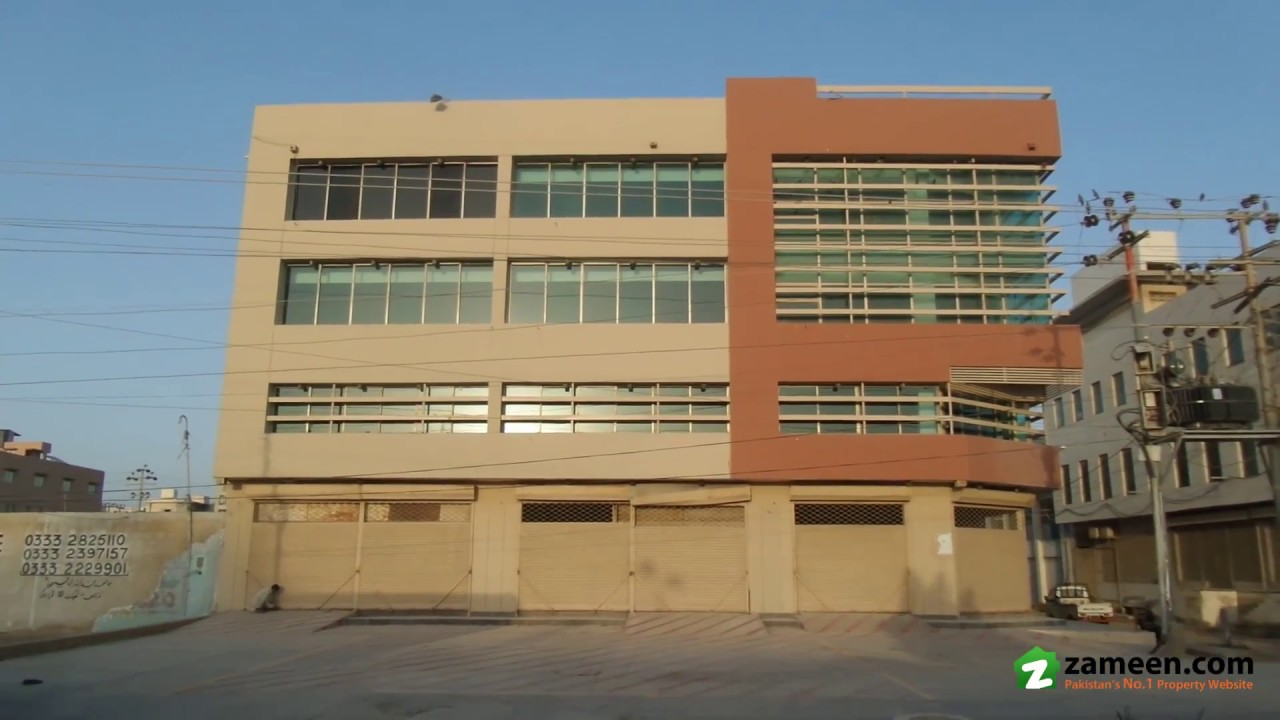1,889 sq. yd. showrooms & offices for rent in mehran town korangi