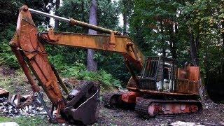 Hitachi UH-14 Old Excavator