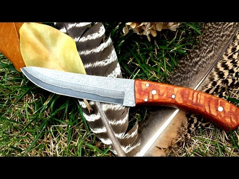 How To Make a Full Tang Knife Handle