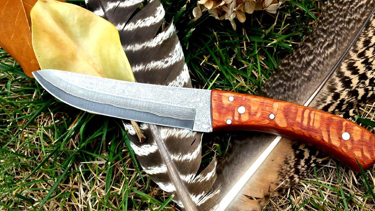 How To Make A Full Tang Knife Handle Doovi