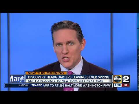 Discovery Communications To Leave Maryland, Moving To New York