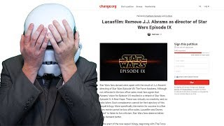 There's a Goofy Star Wars Change.org Petition to Remove J.J. Abrams...