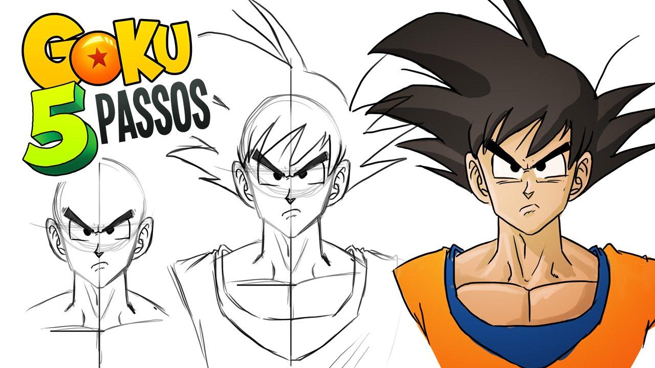 Extremamente Desenhando GOKU em 5 passos! - YouTube WJ15