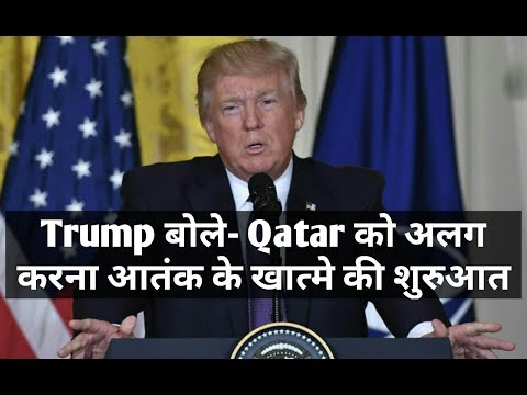 Trump Takes Credit for Saudi Move Against Qatar, a U.S. Military Partner