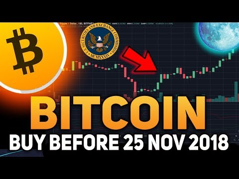 You MUST Invest In Bitcoin Before November 25 2018 - Big Money is Coming To Bitcoin