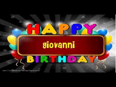 Buon Compleanno Giovanni!   YouTube