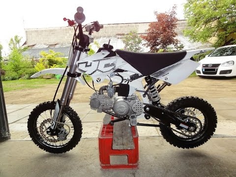 Mini dirt bike | YCF 150 cross | PitBike adventures #1 | Ride for fun | Sport exhaust