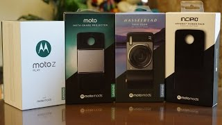 Moto Z Play + Moto Mods Unboxing - El smartphone modular con la mejor batería de Motorola (Perú)