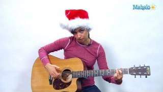 How to Play the Chipmunk Song (Christmas Don't Be Late) on Guitar