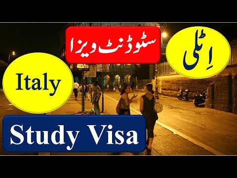 Study in Italy on Scholarship & How To Apply Italy Student Visa.