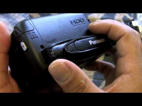 PANASONIC SDR-H100 UNBOXING