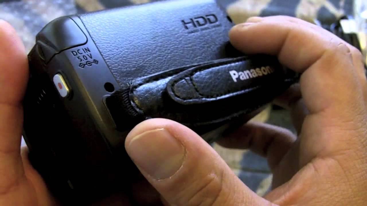 panasonic sdr h100 unboxing youtube rh youtube com Panasonic PV Panasonic PV