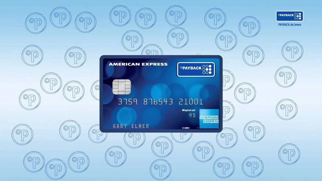Unterschrift American Express Karte.Payback American Express So Funktioniert S
