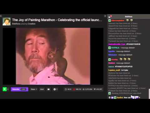 Last Moments of the Bob Ross Stream