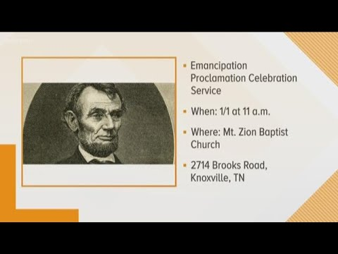 NAACP hosts Emancipation Proclamation service