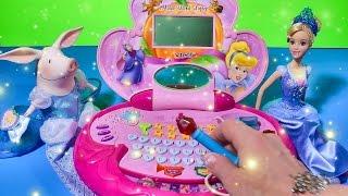 Cinderella Olivia Pig Oliviaella Disney Princess Magic Wand Laptop Princess Box SURPRISE FUN Games