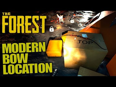 MODERN BOW LOCATION | The Forest | Let's Play Gameplay | S13E13