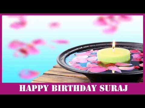 Suraj   Birthday SPA - Happy Birthday