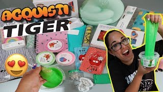 ACQUISTI DA TIGER! SLIME,BACK TO SCHOOL E COSE STRANE Iolanda Sweets