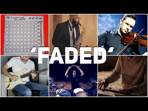 Who Played It Better: Faded (Piano, Violin, Drum Kit, Saxophone, Electric Guitar, Launchpad)