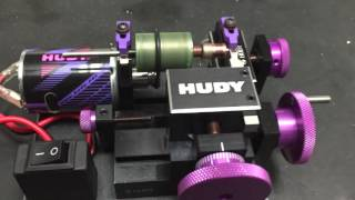 Hudy Comm Lathe for Airsoft motors