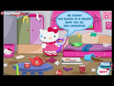 Hello Kitty's Garden / Birthday Cake / House Makeover / Laundry Day / Games for Children /Android HD